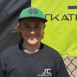 Caiden Kennedy Treasurer Skate Cambria